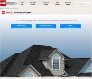GAF Home Remodel Tool