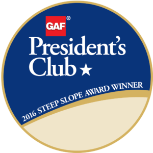 GAF Steep Slope Presidents Club