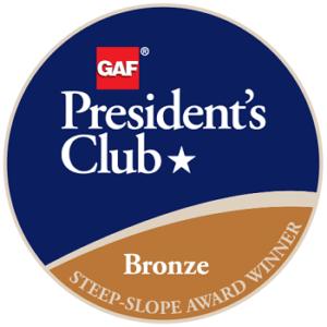 GAF Presiden'ts Club Award
