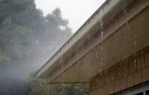 overflowing gutter system