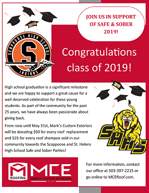 Columbia County Safe and sober graduation party 2019