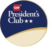 GAF President's Club, #GAF, #MCERoof