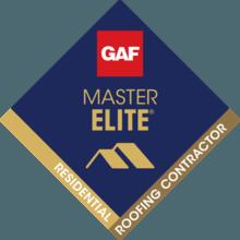 MCE Roofing a GAF Master Elite Contractor