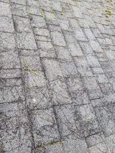 Roofing Shingles That Were Pressure Washed Causing Damage