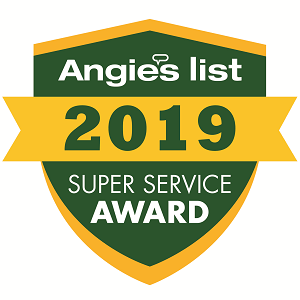 MCE Roofing Receives Angie's List Super Service Award