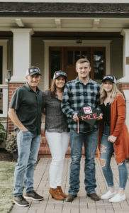 A picture of the Holcomb Family