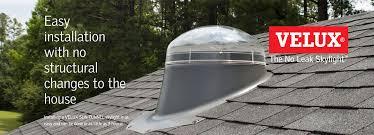 Velux Sun Tunnel on Roof