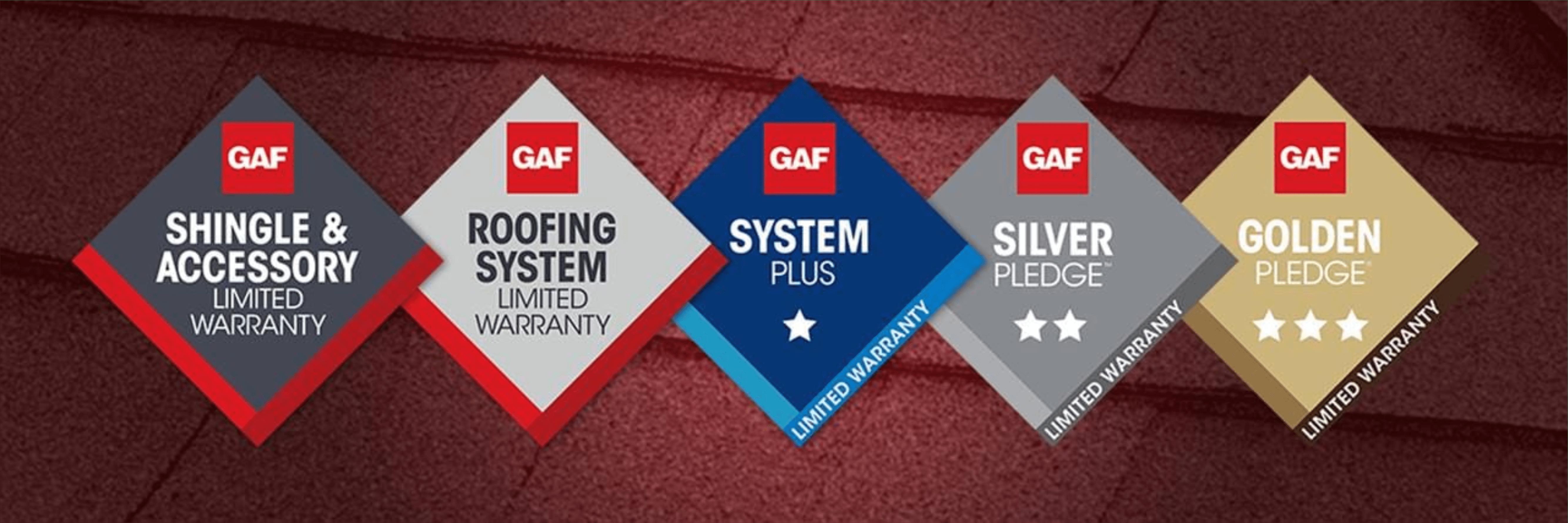 GAF Warranty Options