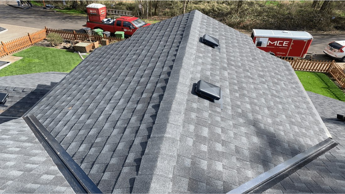 MCE Roofing After Roof Replacement
