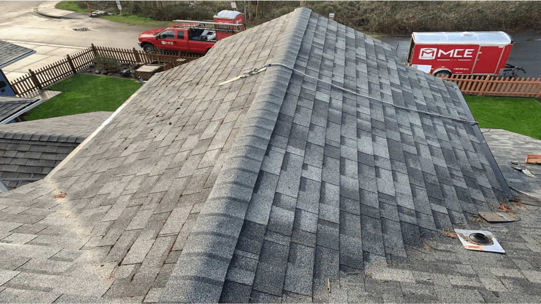 MCE Roofing Before Roofing Project
