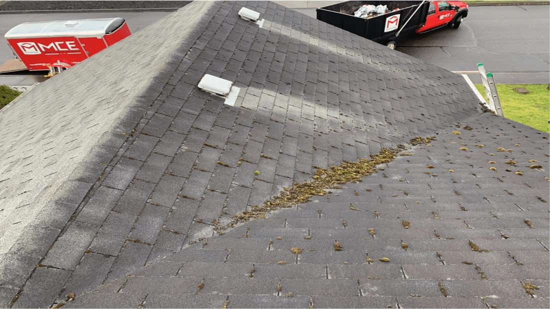 MCE Roofing Before Roof Replacement